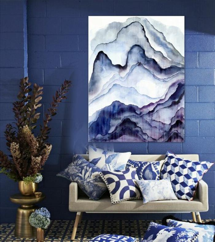 Wandbilder Selber Malen Welche Farben : ewiger sommer zu hause wandbilder zum genießen ideen in bunten farben