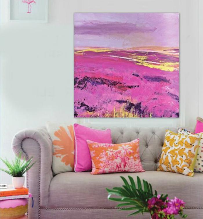 bunte farben bringen frische und lust in dem zuhause rosa zyklame orange gelb weiß liebevolles flair