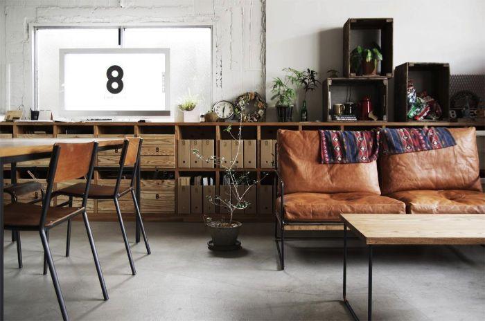 Wunderbar Wohnzimmer Ideen Modern, Deko Ideen Braun Weiß Wohnung Einrichten, Leder  Sessel