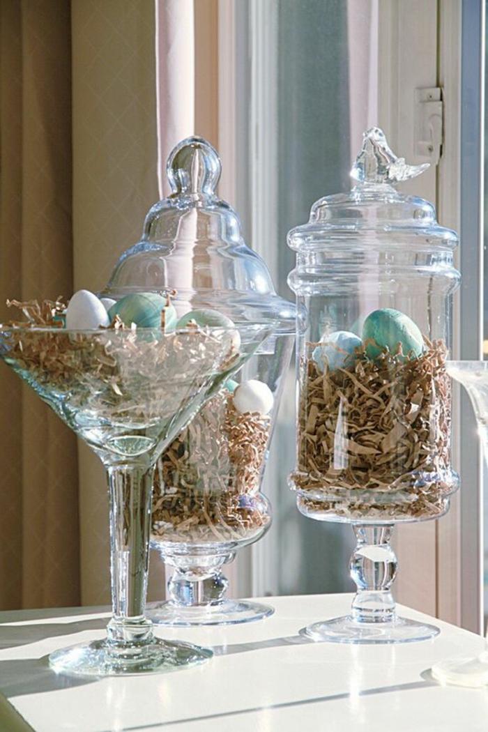 30 Ideen In Bildern Fur Wunderschone Fensterdeko Ostern