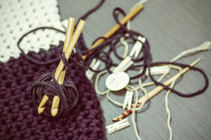 selbstgestrickt handhgemachtes Häkelteil verkaufen online