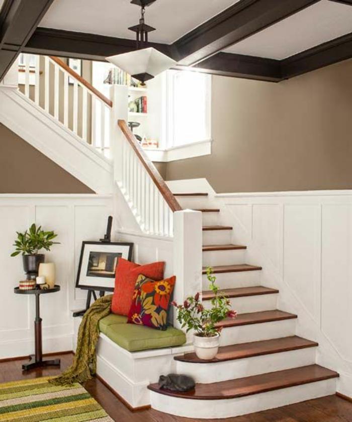50 bilder und ideen f r treppenaufgang gestalten. Black Bedroom Furniture Sets. Home Design Ideas