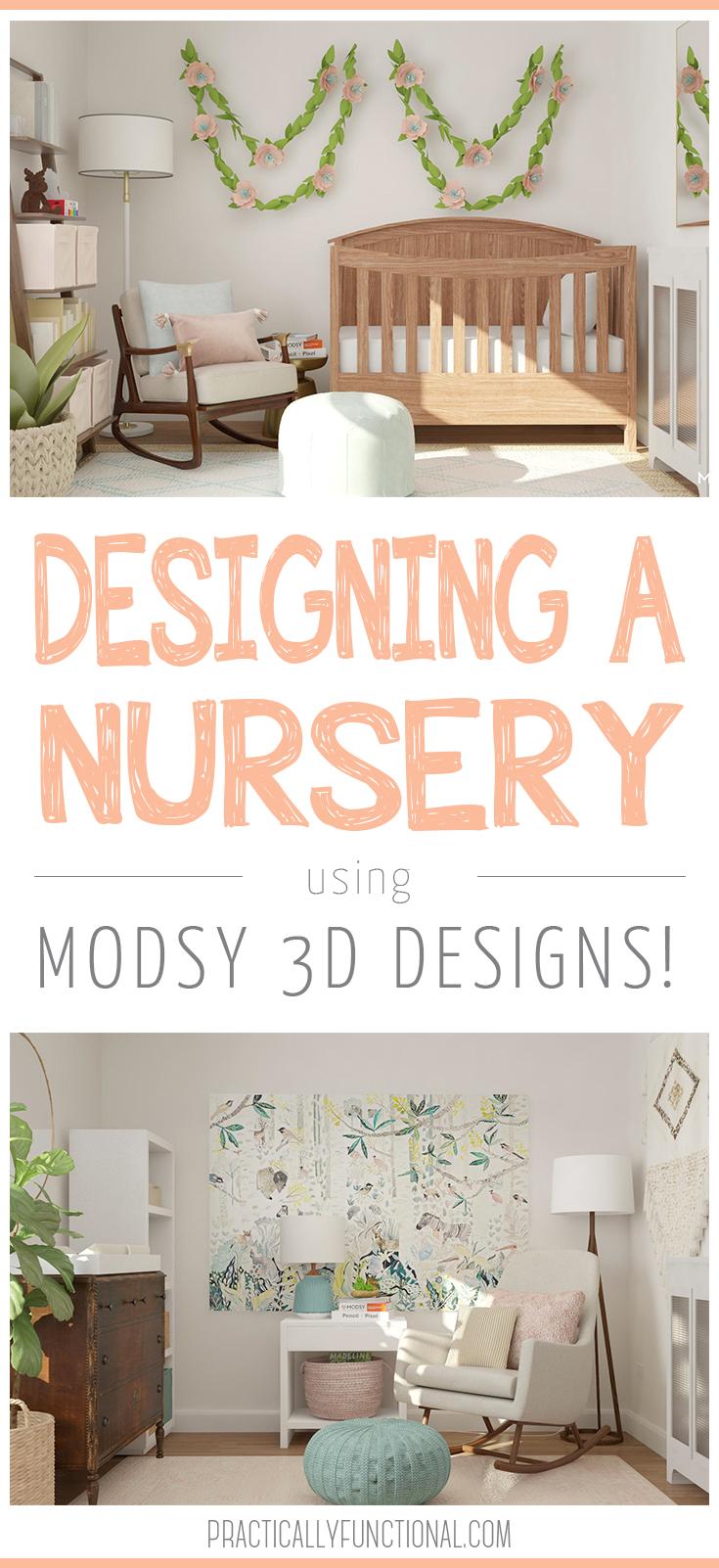 babyzimmer mädchen einrichten und schön gestalten, wanddeko grün, babybett, stuhl