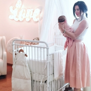 Babyzimmer Mädchen - 130 Ideen für mädchenhaftes Flair