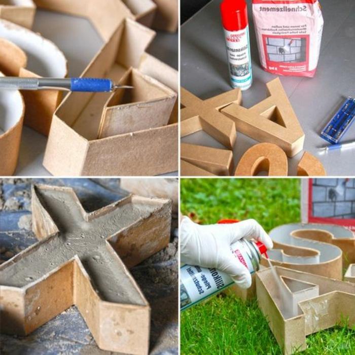baton deko - diy buchstaben, kartonbuchstaben, kugelschreiber