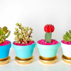 Blumentöpfe dekorieren - 10 Anleitungen und 170 inspirierende Bilder