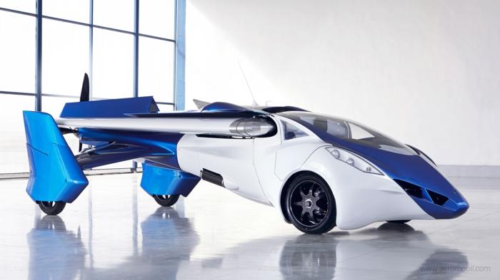 aeromobil 3.0 - ein fliegendes auto mit ausklappbaren tragflächen