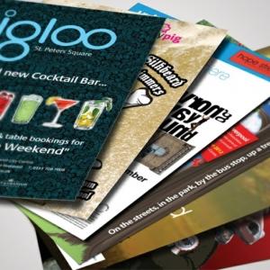 Flyer selbst erstellen - die professionellsten Programme im Überblick