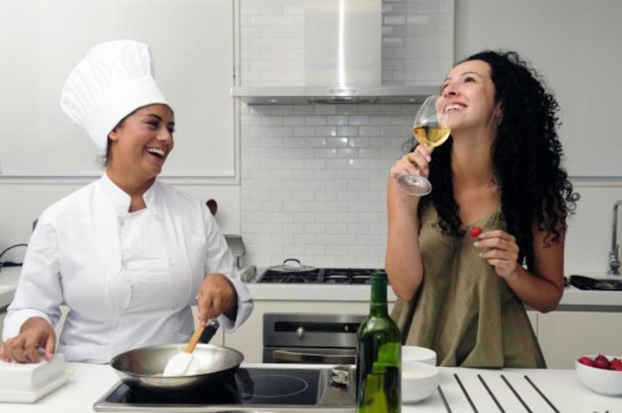 eine private Köchin ist das beste Haushaltspersonal