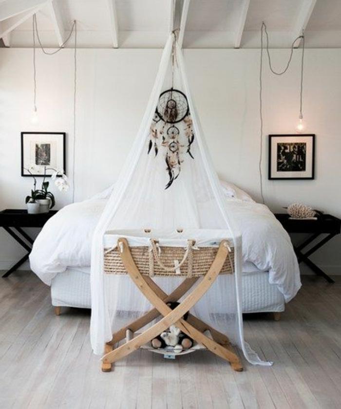 babyzimmer dekoration weiß und schwarz klassische farben im kinderzimmer einfaches interieur design toll