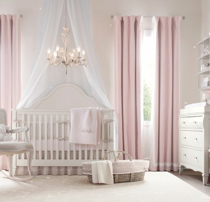 vorh nge babyzimmer m dchen stroyreestr. Black Bedroom Furniture Sets. Home Design Ideas