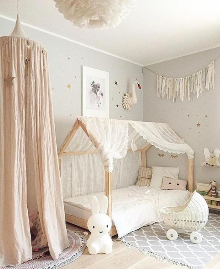 kinderzimmer idee dezente farben und einrichtung weiß für mädchen oder junge kinderzimmer spielecke