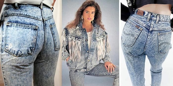 80er style jacke