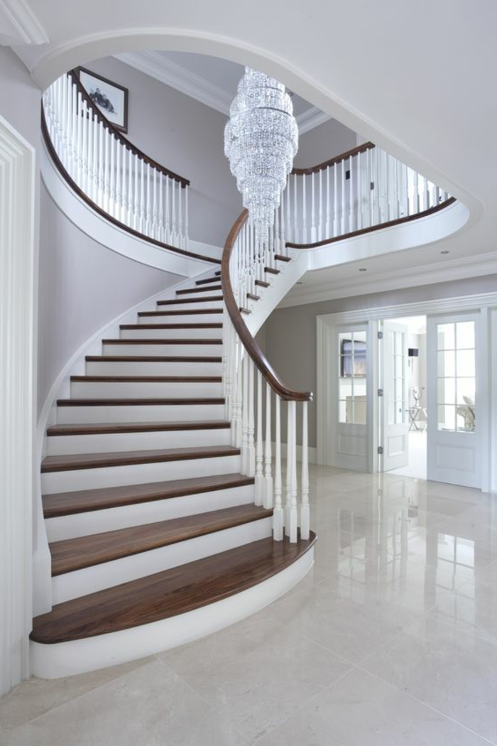 gestaltung treppenhaus 50 bilder und ideen f r. Black Bedroom Furniture Sets. Home Design Ideas