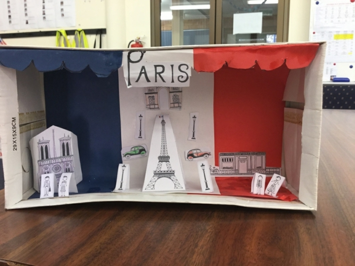 falls die Kinder an einer Reise nach Paris träumen, gestalten Sie für Sie die Hauptstadt