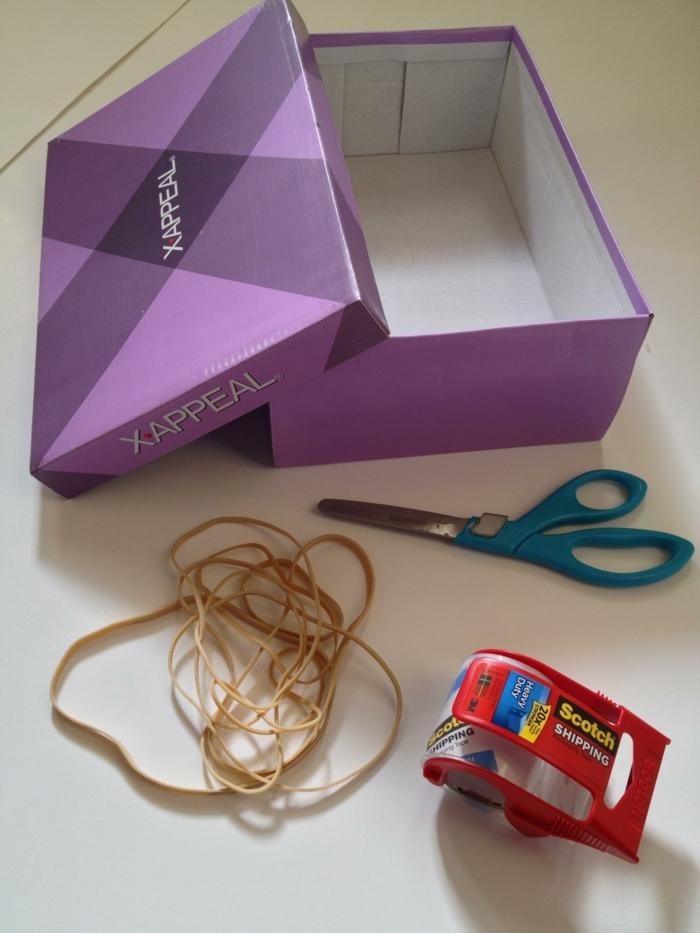 was brauchen Sie für eine rustikale Schachtel selber zu gestalten