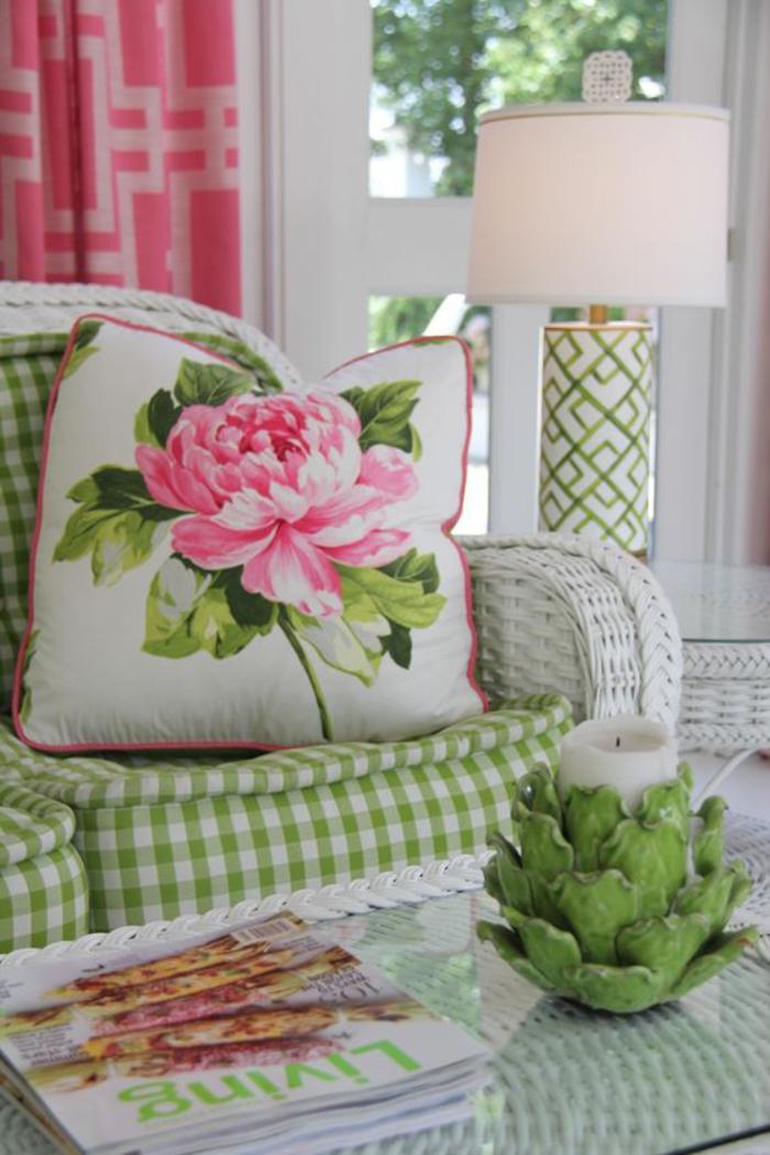 emejing shabby wohnzimmer grun photos house design ideas. Black Bedroom Furniture Sets. Home Design Ideas
