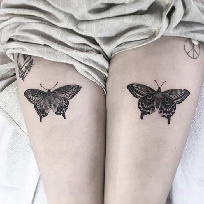 1001 bein tattoo ideen f r jeden geschmack und jedes alter. Black Bedroom Furniture Sets. Home Design Ideas