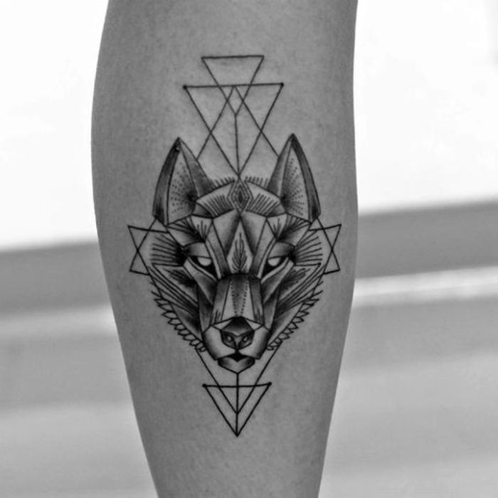 Vorlagen waden tattoo mann Tattoo Wade