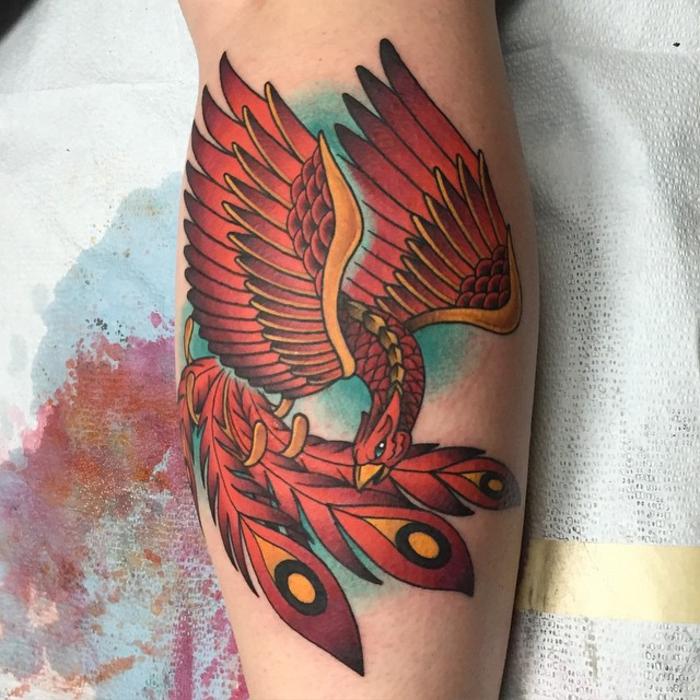 Motive männer bein tattoo 75 Schöne