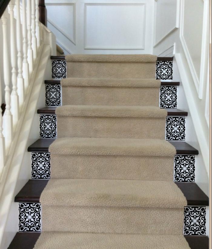 Wandgestaltung Treppenaufgang Gestalten: 1001+ Ideen Für Treppenhaus Dekorieren Zum Entnehmen