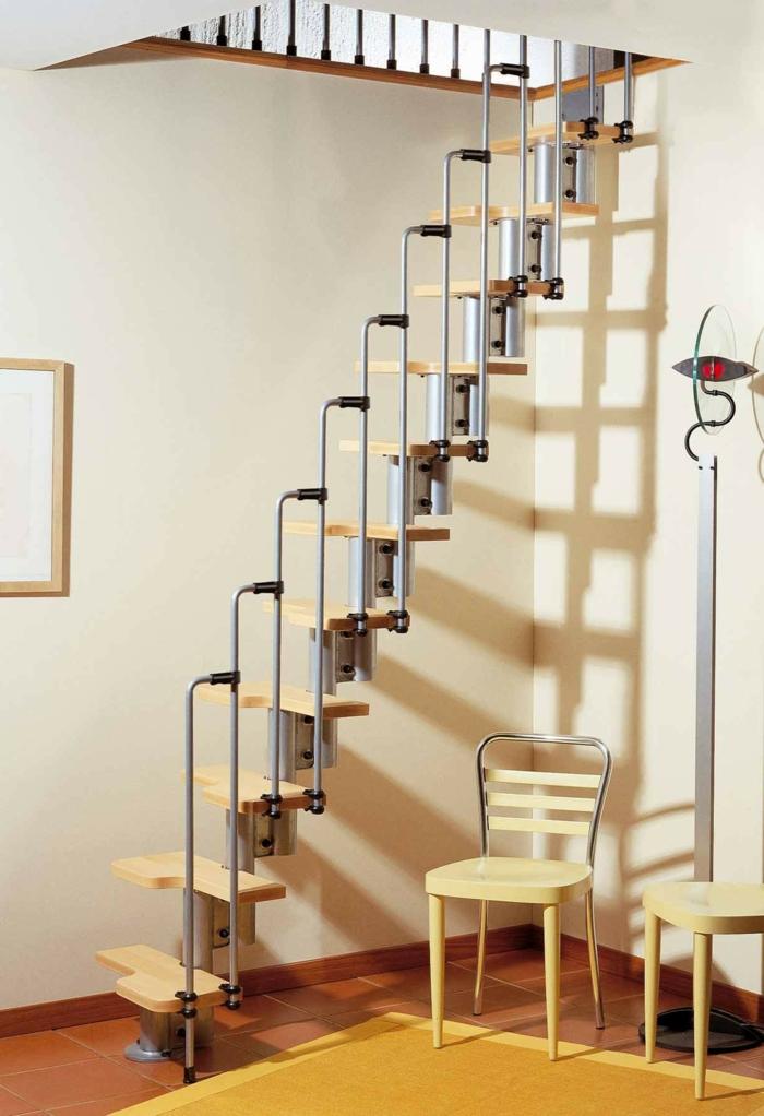 diese Treppen nehmen gar keinen Platz, doch sie sind so bequem - Treppenaufgang Deko