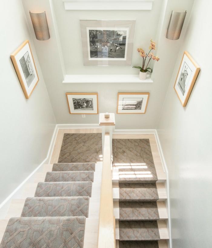 Bilder für Treppenhaus - ein Collage mit verschiedenen Szenen, eine Vase in Tasse