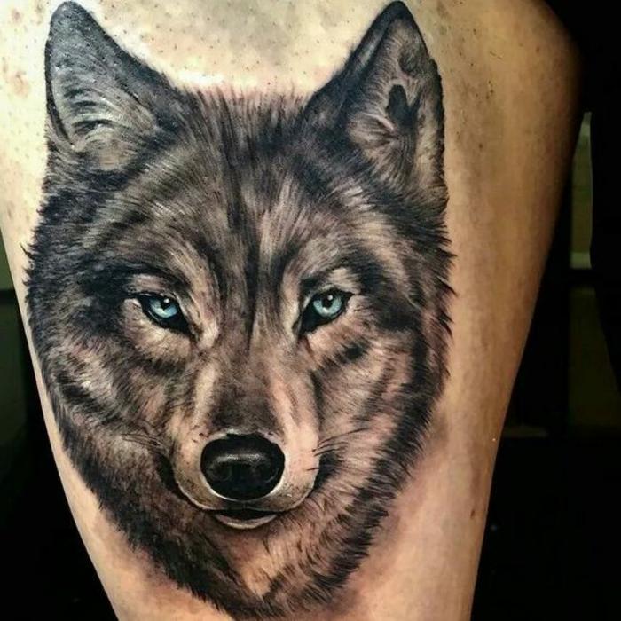 1001 Ideen F 252 R Einen Tollen Wolf Tattoo Die Ihnen Sehr