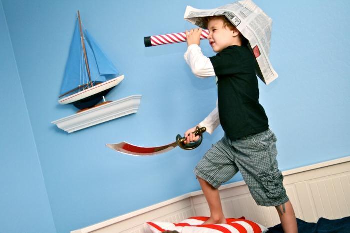 lassen die Fantasie der Kinder freien Lauf, falls Sie Piraten werden wollen