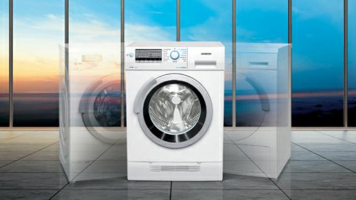 waschmaschine beste technologie weiße technik fenster groß ideen