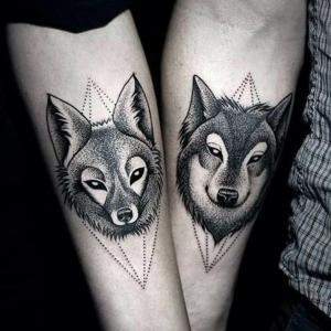45 Wolf Tattoo Ideen