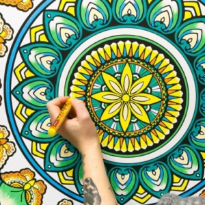Mandala malen - ausführliche Anleitungen und zahlreiche Techniken