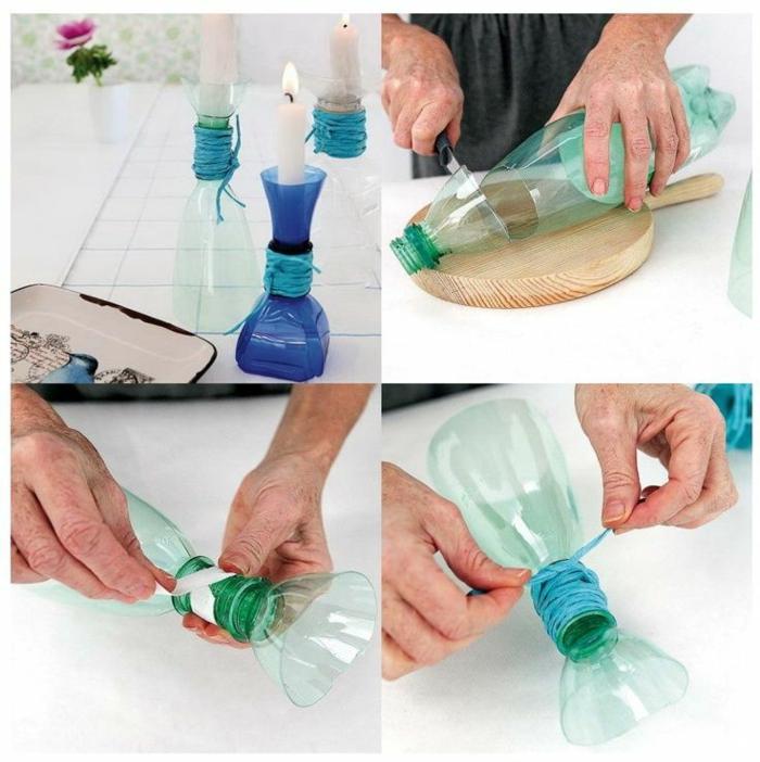 1001 ideen zum thema basteln mit plastikflaschen. Black Bedroom Furniture Sets. Home Design Ideas