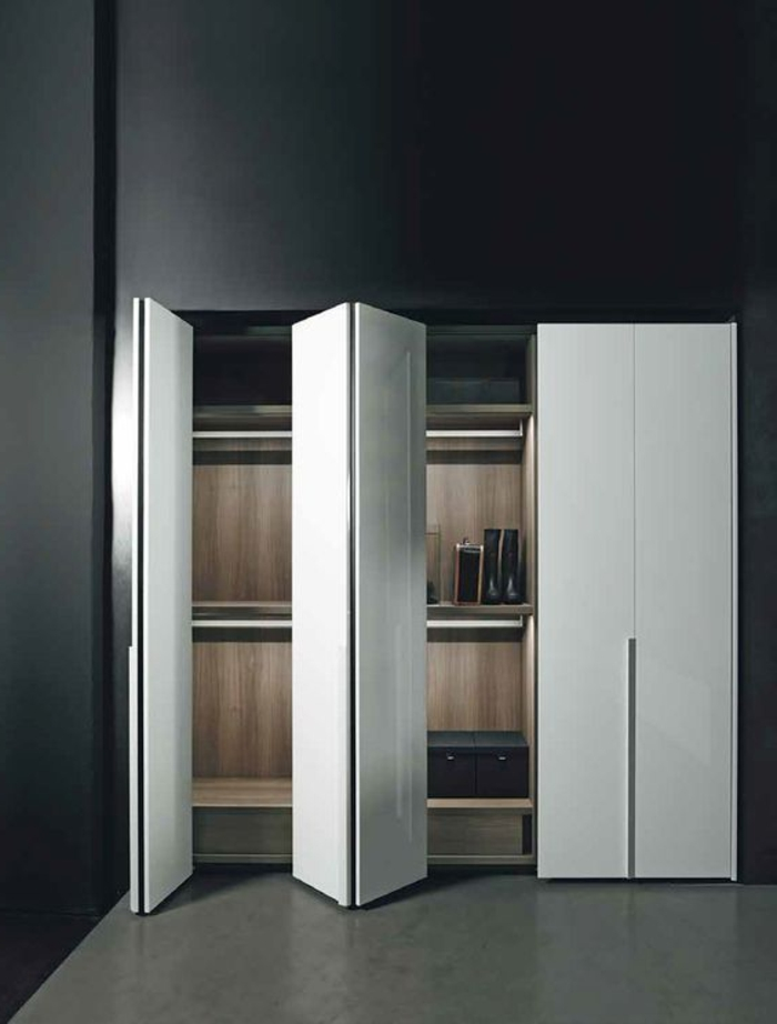 40 tolle kleiderschrank ideen und tipps f r ihre eigene. Black Bedroom Furniture Sets. Home Design Ideas
