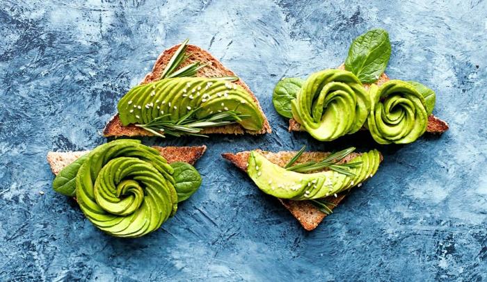 avocado zum frühstück schöne dekorationen von avocado selber machen avocado auf brot einfach und schnell kochen
