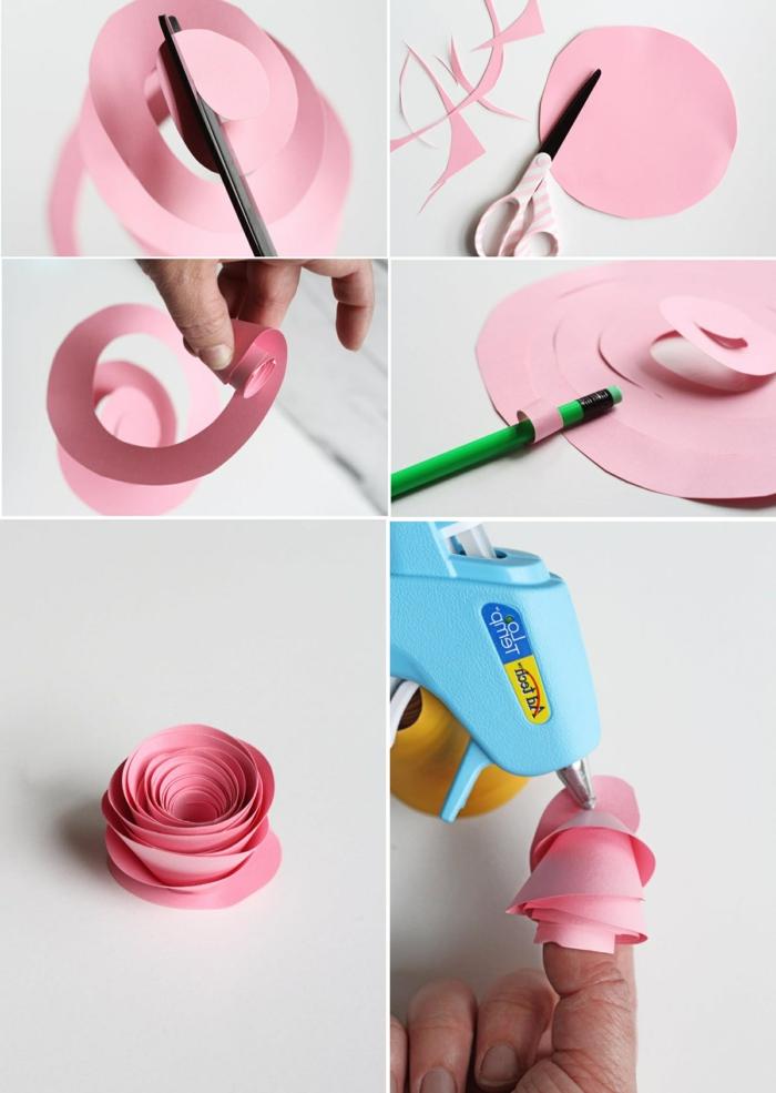 1001 Ideen Wie Sie Papierblumen Basteln Konnen