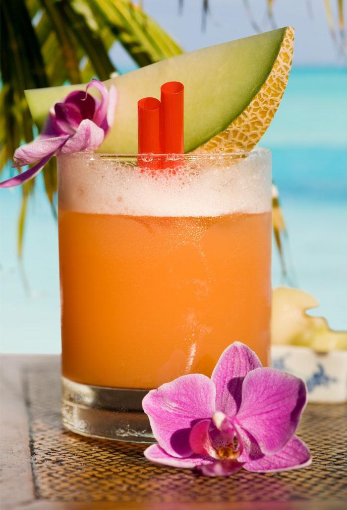 Cocktails selber machen, Rezept mit Zuckermelone, coole Ideen für Sommergetränke