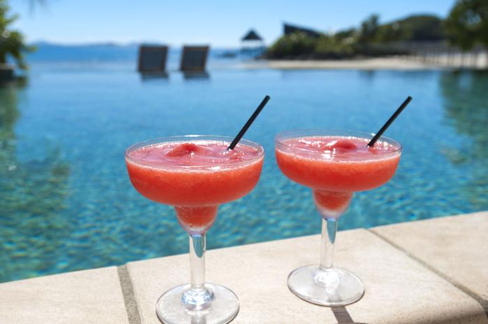 Erdbeer Daiquiri, einfache und schnelle Cocktailrezepte, leckere Sommergetränke