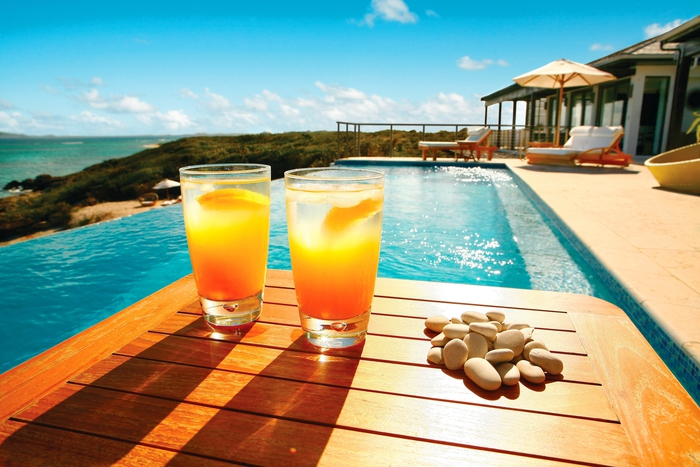 Rezepte für Cocktails mit Zitrusfrüchten, vom Sommer träumen, die Sonne genießen