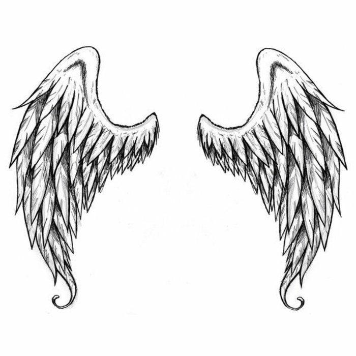 jetzt zeigen wir ihnen noch einige ideen für einen schwarzen tollen engelsflügeln mit langen federn., die ihnen sehr gut gefallen können