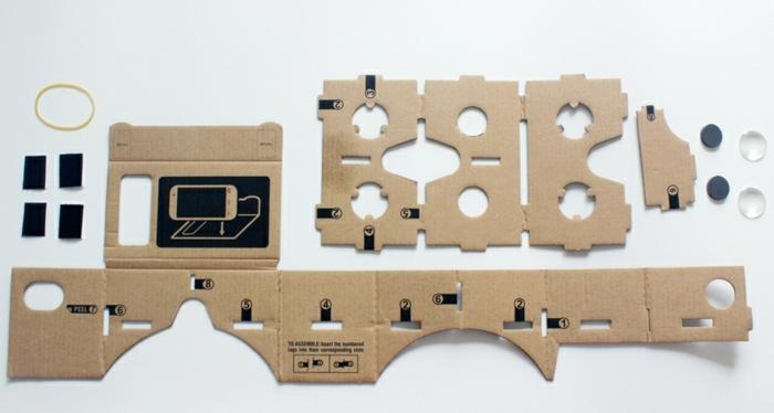 so kann jeder von uns vr brille aus pappe selber bauen - eine anleitung und ein gelbes gummiband