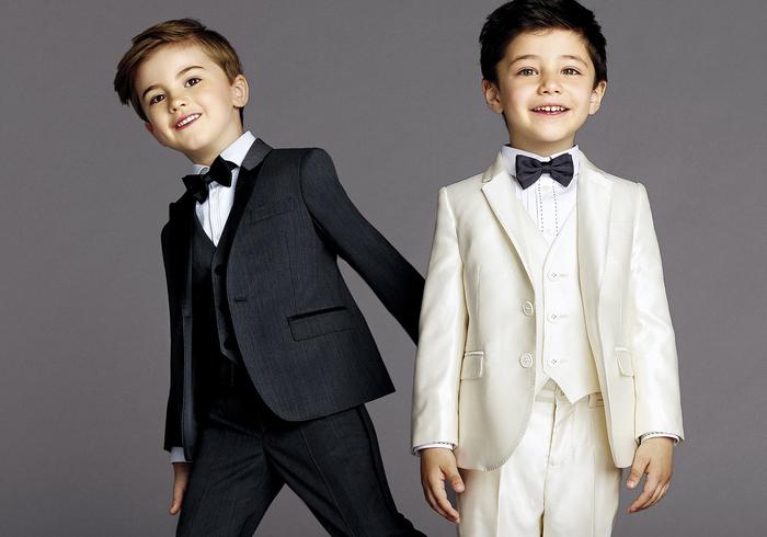 festliche Kinderkleider, Sommermode 2017 für Jungen, Anzug mit Fliege, Hochzeitskleider für Kinder