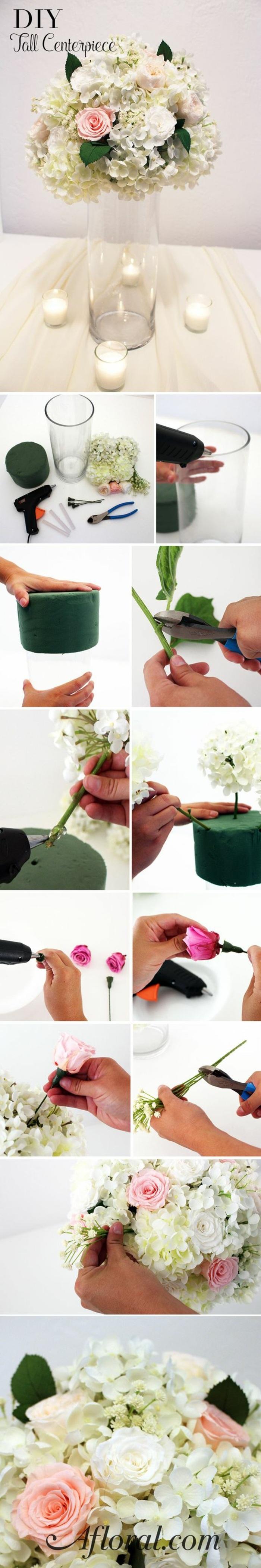 1001 ideen wie sie eine elegante tischdeko selber machen. Black Bedroom Furniture Sets. Home Design Ideas