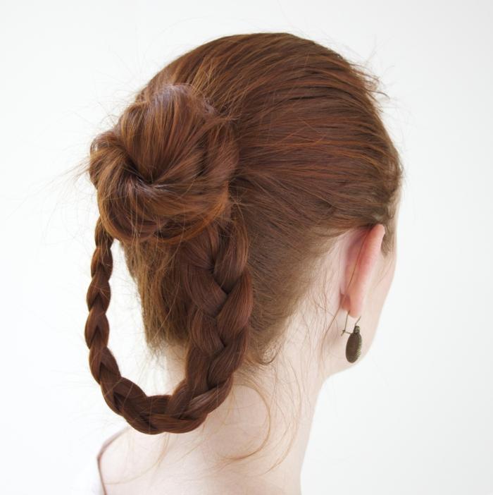 rote Haare ganz populäre im Mittelalter Frisur neu entdeckt - schöne Flechtfrisuren