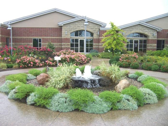80 pflegeleichter garten ideen zum entlehnen und inspirieren - Vorgarten pflegeleicht gestalten ...