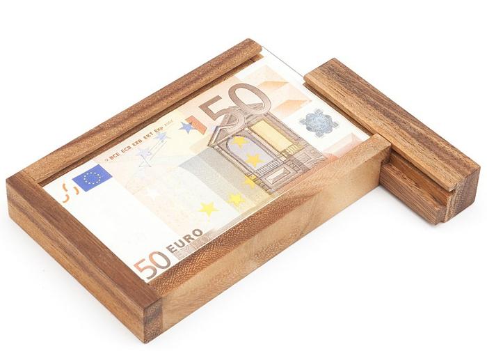 Ideen für Geldgeschenke, Geldgeschenkbox aus Glas und Holz, das perfekte Hochzetsgeschenk