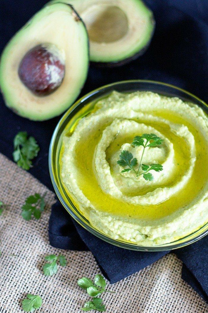 leckeres dip aus avocado ideen zum verwirklichen essen selber zubereiten avocadogerichte kochen petersilie deko