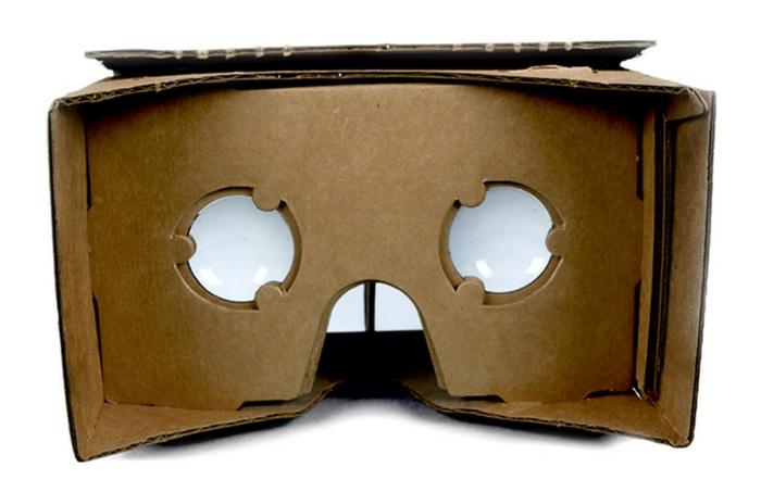 noch eine ganz tolle idee für selbst gebaute vr vrille aus pappe mit zwei kleinen okularen