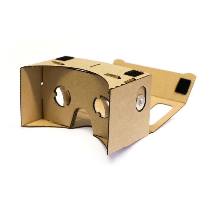 ganz tolle idee zum thema virtuelle realität brille mit kleinen okularen selber bauen