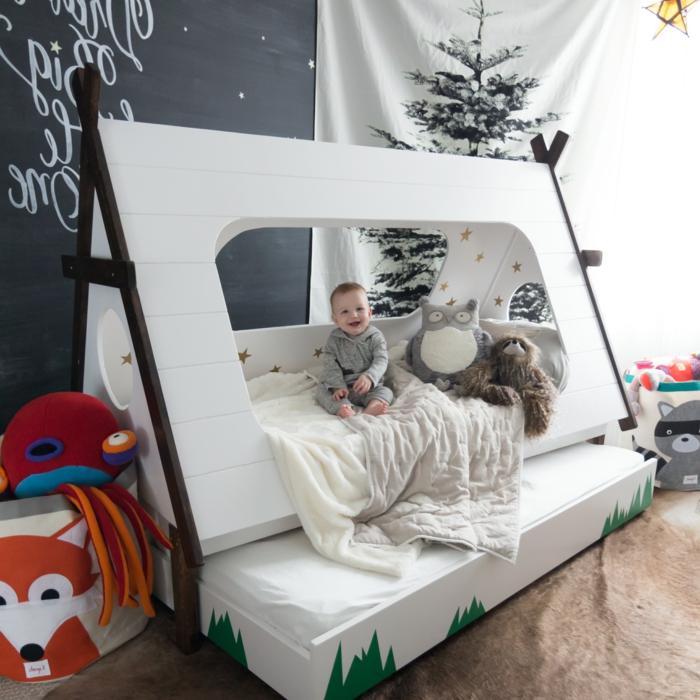 Kinderzimmer günstig mit Gutschein einrichten: Kinderbett, Aufbewahrungssysteme für Spielzeuge, Teppiche